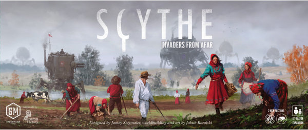 Scythe invaders of Afar (ENG)