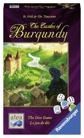 The castle of Burgundy dice game (ENG)