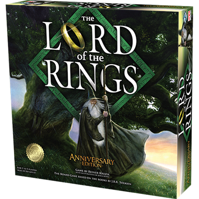 The Lord of the rings anniversary editie bordspel (ENG)